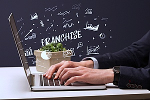 franchise data being used by a business owner who wants to expand his organization
